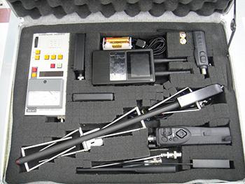 当社が使用している探査機器の一部